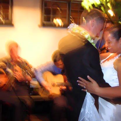 Dan and Camille dancing